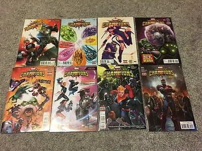 Contest Of Champions #2-10 Lot Of 8 Issues Marvel Comics  Al Ewing