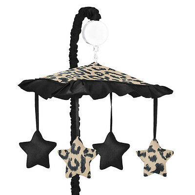 Sweet Jojo Designs Musical Mobile for Animal Safari Jungle Baby Crib Bedding Set