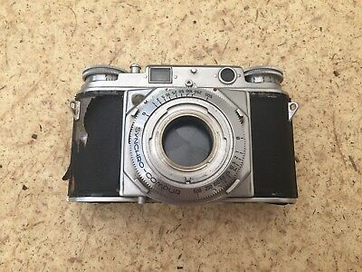 Voigtlander Prominent 35mm Rangefinder Camera Body - For Parts - Sold As-Is