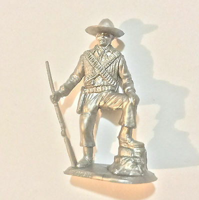1973 Aussie Cereal Toy Soldier ~ Mexican ~ Silver Soldiers Of The World, Nabisco