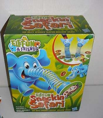 Elefun Snackin' Safari by Hasbro 2012 2 Players Ages 3 and up hard to find in Oz