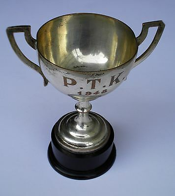 Vintage Silver Plated Trophy  1948