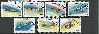 1993 Military Aircraft  Complete set of 7 CTO