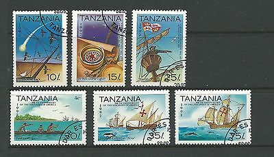 1992 The 500th Anniversary of Discovery of America set of 6  Complete CTO