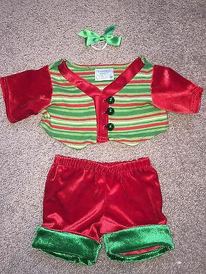 BAB Build-a-bear christmas outfit shirt and pants