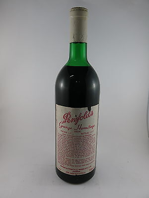 PENFOLDS GRANGE HERMITAGE BIN 95 1976 Rated 100/100 WOW *WINE*