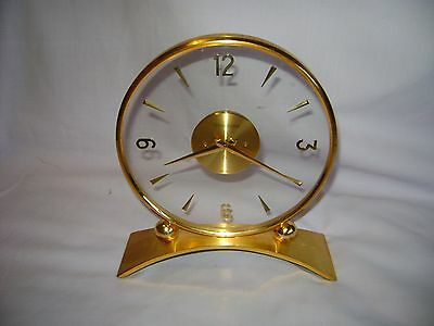 Vintage Jaeger Lecoultre Mantel Clock In Good Condition