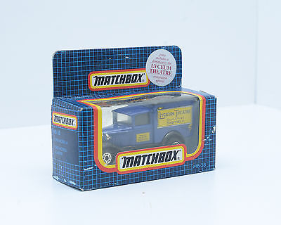 """Matchbox MB-38, Model A Ford, """"Lyceum Theatre"""" in Excellent Condition, 2211"""
