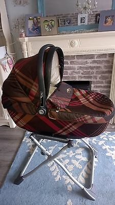 MAMAS & PAPAS autocruise carrycot car seat, auto cruise, navetta, switch, coutur
