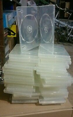 New clear dual DVD cases