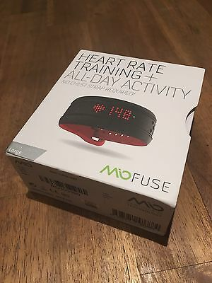 Mio Fuse Wrist Heart Rate Monitor Activity Tracker HRM Ant+ Bluetooth