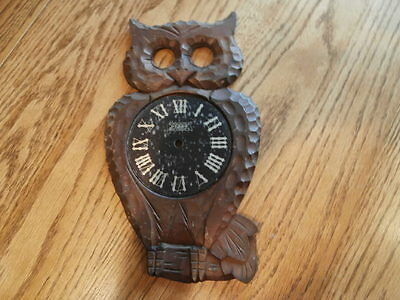 Poppa Owl Clock Face