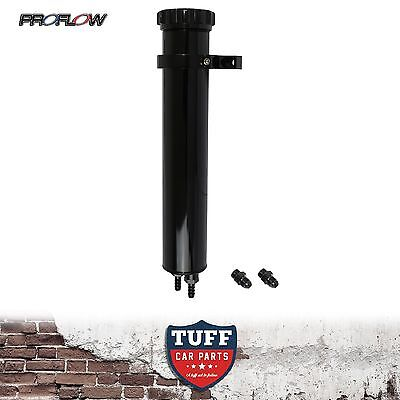 Proflow 8.5 Black Billet Alloy Radiator Coolant Overflow Recovery Expansion Tank