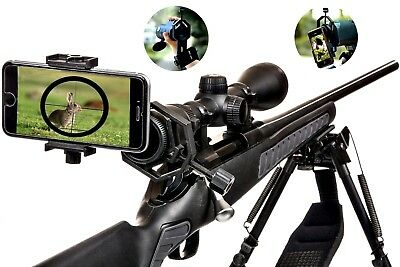 Cellphone Adapter Mount Rifle Scope Universal Mobile Phone Holder Spotting Scope