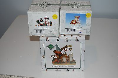 Charming Tails Collection Lot of 3 EUC in original boxes
