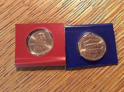 2016 Lincoln Cent P&D from mint set