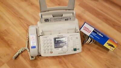 Panasonic Facsimile KX-FP85 Digital Messaging System with Time/Day Stamp