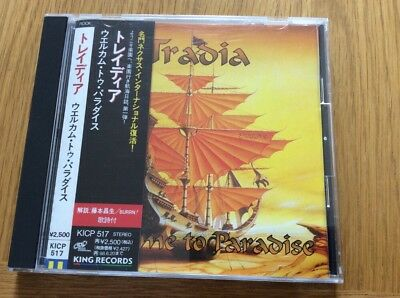 Tradia - Welcome To Paradise V Rare Japan Cd Obi In Mint Condition