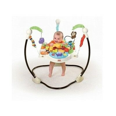 baby activity center jungle jumper fisher price luv love you u zoo