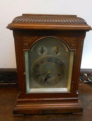 oak cased westminster bracket clock c1900s