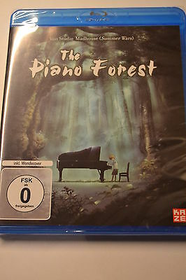 The Piano Forest Blu Ray Neu & Ovp, Deutsch, Anime