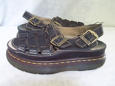 Dr Martens Brown Leather Fisherman Sandals US Size 6