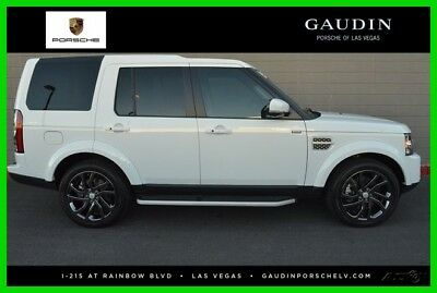 2015 Land Rover LR4 HSE Lux Sport Utility 4-Door 2015 Used 3L V6 24V Automatic 4WD SUV Premium Moonroof