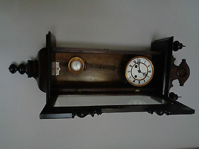 VIENNA REGULATOR 1880 movement CARL MEISENZAHAL DARMSTADT DACHBODENFUND