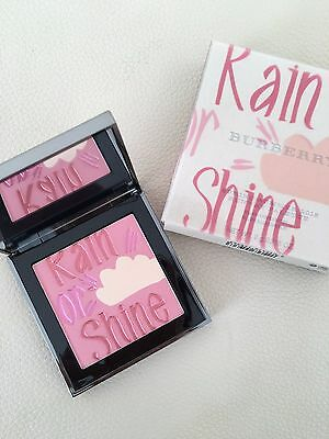 BURBERRY Limited Edition Rain Or Shine Blush/Highlighter Runway Palette *NEW*
