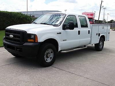 2006 Ford Other Pickups  2006 FORD F-250 4X4 CREW CAB 6.0 DIESEL ENGINE AUTOMATIC  TRANS UTILITY BED
