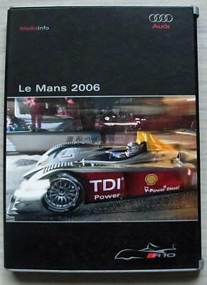 AUDI R10 TDI LE MANS 2006 Car Press Information Media Kit Pack CD Photos