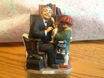 """Norman Rockwell """"Doctor and the Doll"""" figurine"""