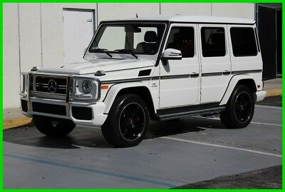 2015 Mercedes-Benz G-Class G63 AMG® Got to see it to believe it G63 AMG Financing available