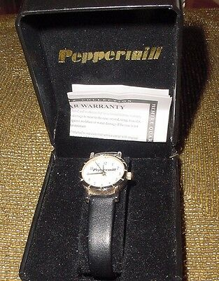Ladies Wrist Watch Limited Edition Japan Peppermill Hotel Casino Gaming Vip