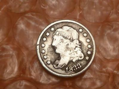 1833 Capped Bust Half Dime #2