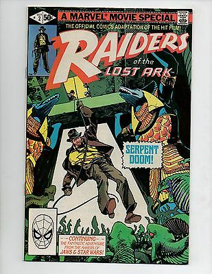 Raiders of the Lost Ark #2 (Oct 1981, Marvel) VF/NM 9.0