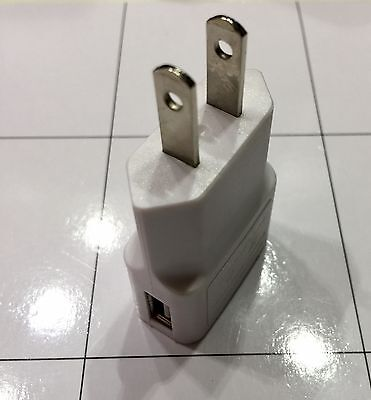 2X New OEM Miscellaneous 5W USB Power Adapter Charger Wall Plug