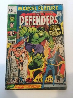 Marvel Feature #1 Good First Appearance of the Defenders