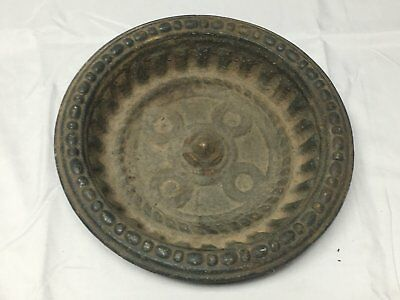 Antique Cast Iron Bowl Dish Planter Decorative Tray Urb Pot Old Vintage 548-17E