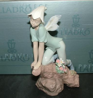 "Lladro Figurine ""Prince of the Elves"" Enchanted Forest Collection  #7690 MIB!"