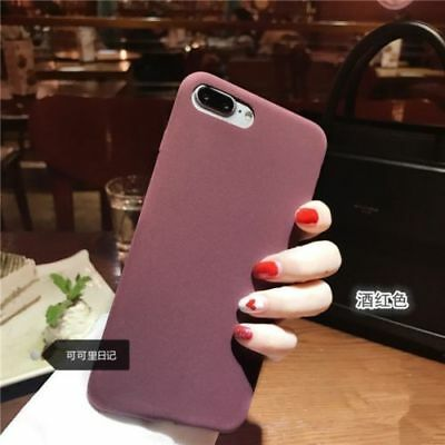 Soft Silicone Shockproof Thin Back Case Cover For Samsung Galaxy S8 / S8 Plus