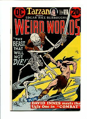 Weird Worlds #5 NM 9.4 HIGH GRADE DC Comic John Carter Warlord of Mars VINTAGE