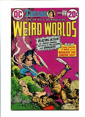 Weird Worlds #6 NM- 9.2 HIGH GRADE DC Comic John Carter Warlord of Mars VINTAGE