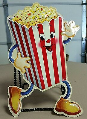MOVIE THEATER POPCORN Vintage Style Restaurant 50's Drive In Diner Sign Wet Bar