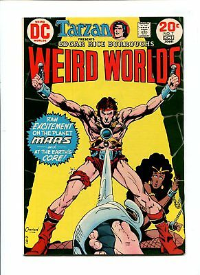 Weird Worlds #7 NM- 9.2 HIGH GRADE DC Comic John Carter Warlord of Mars VINTAGE