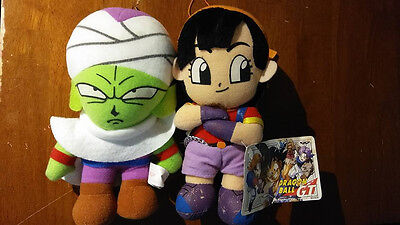 Dragon Ball Z and Dragon Ball GT Plush dolls lot of 2! Piccolo and Pan