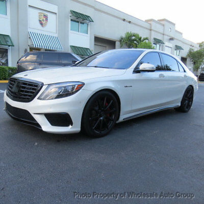 2015 Mercedes-Benz S-Class 4dr Sedan S 63 AMG 4MATIC ONE OWNER !! FACTORY WARRANTY !! BEST COLOR COMBO ! NATIONWIDE SHIPPING
