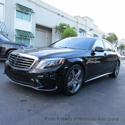 2015 Mercedes-Benz S-Class 4dr Sedan S 63 AMG 4MATIC BEST COLOR. FULLY LOADED. LIKE NEW. CARFAX CERTIFIED