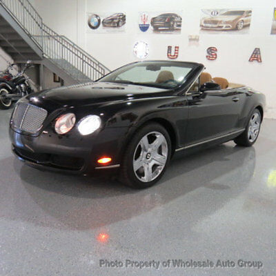2007 Bentley Continental GT 2dr Convertible WHOLESALE PRICE !! FULLY LOADED !!! CARFAX CERTIFIED !!! JUST SERVICED