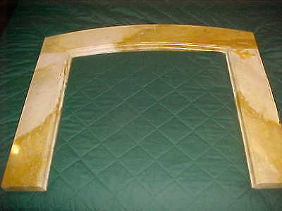 """1929 Antique Marble Surround  2 """" Thick 45"""" Wide X 40"""" Tall At The Top"""